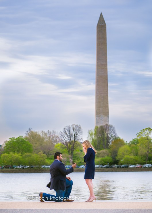 Lincoln Photography - Nefi & Emily Proposal in DC - 001