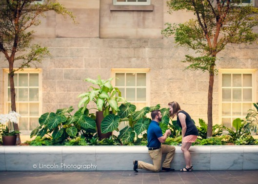 Lincoln Photography - Anthony & Hannah Proposal in DC - 001