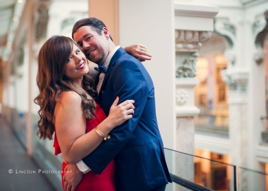 Jessica & Michael Engagement DC - 001