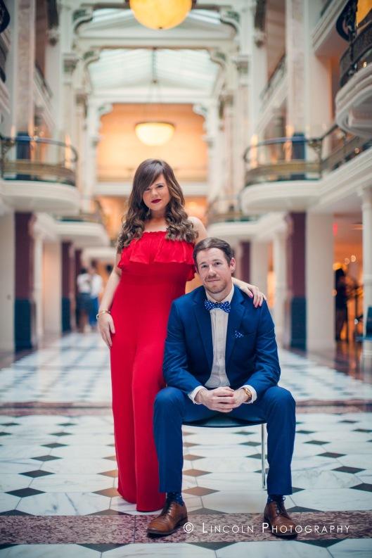 Jessica & Michael Engagement DC - 005