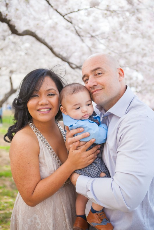 Gage Family - Cherry Blossoms - 029